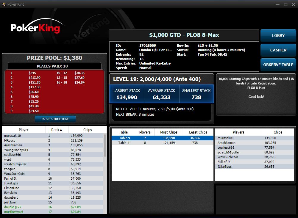 PokerKing Software